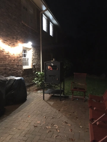 TROMEN OUTDOOR PIZZA OVEN