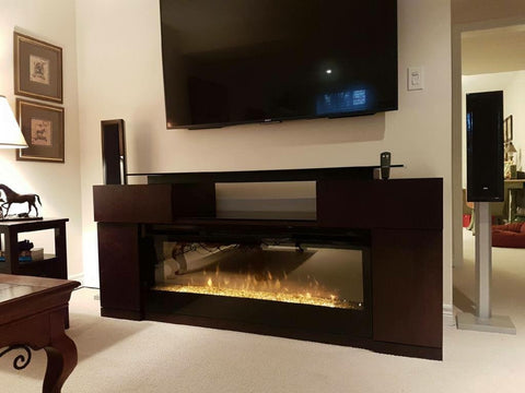 DIMPLEX CONCORD MEDIA CONSOLE FIREPLACE