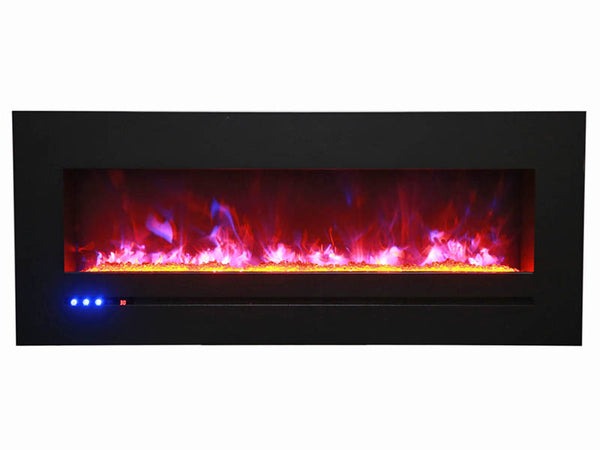 "Sierra Flame By Amantii 48"" Flush Mount Electric Fireplace"