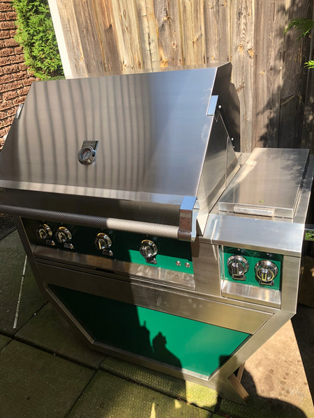 "Hestan 36"" Grill - Grove Green 