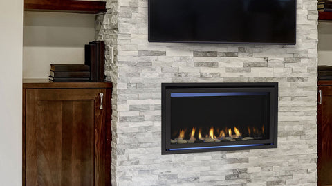 Majestic Jade Series Direct Vent Linear Gas Fireplace