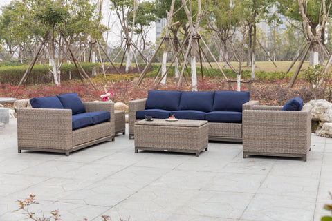 Plank & Hide Judd Wicker Deep Seating Collection