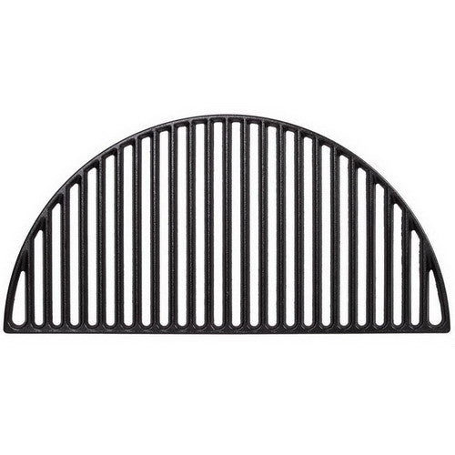 Kamado Joe Half Moon Cast Iron Cooking Grate for Classic Joe