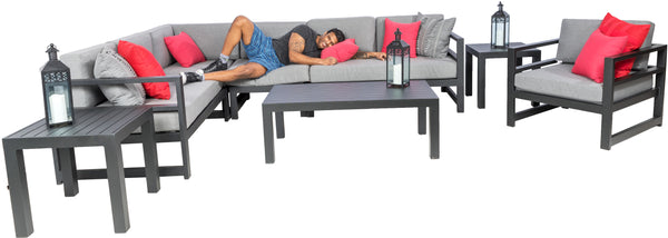 Keoma Deep Seating Sectional Patio Set