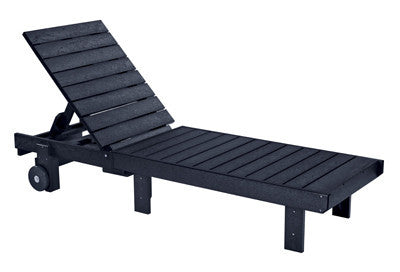 CRP Chaise Lounge - Black