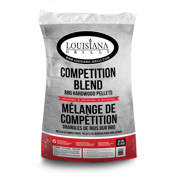 Louisiana Grills Wood Pellets - Competition Blend l Barbecues Galore
