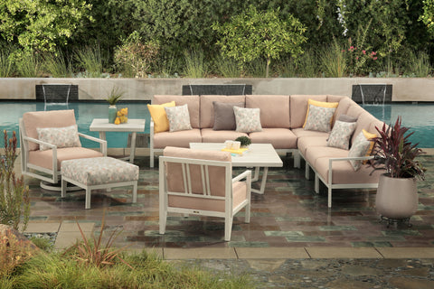Mallin Madeira Sectional Patio Collection