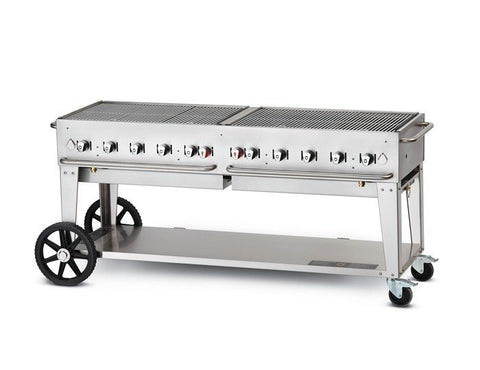 "Crown Verity Charbroiler - 72"" Mobile Grill"