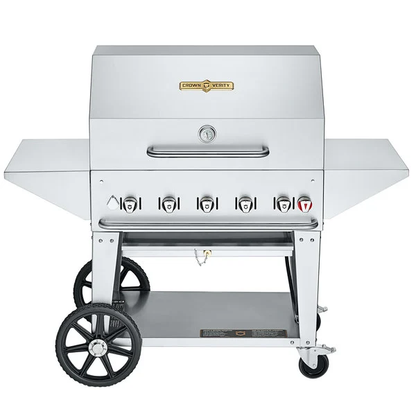 "Crown Verity Charbroiler Professional Series - 36"" Mobile Grill PRO Propane"