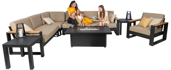 1867 Nanton Sectional Patio Furniture Set