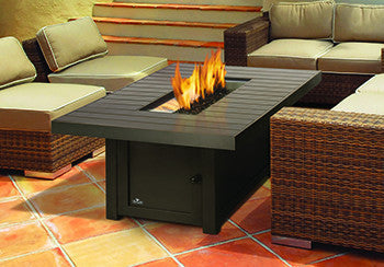 "Napoleon St Tropez 56"" x 36"" Rectangular Gas Fire Table"