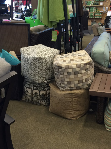North Cape Pouf Cube Cushions
