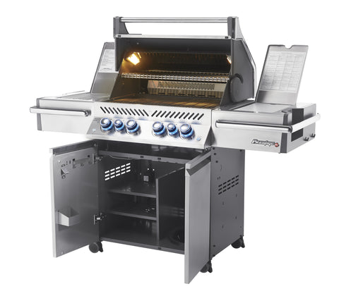 Napoleon Prestige PRO500RSIB - Propane Grill | Get grilling this summer with upgraded grilling features | Check it out at Barbecues Galore in Calgary, Alberta and in Ontario in Burlington, Oakville & Etobicoke