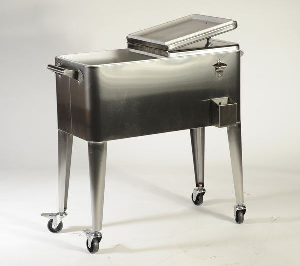 BRANDER STAINLESS STEEL COOLER