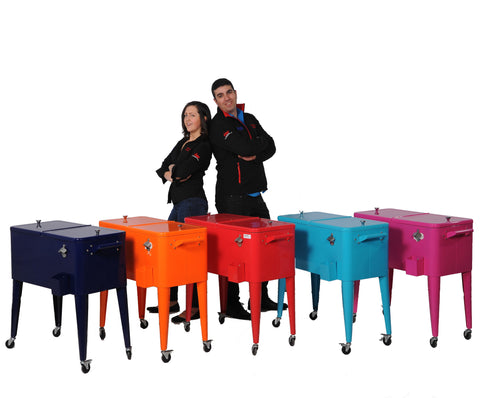 Brander Party Starter Coolers - All Colours with Models