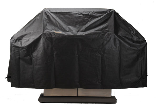 "Montana 74"" Adjustable Depth Vinyl BBQ Cover - Barbecues Galore. Shop everything from covers and accessories to rubs and spices, to of course BBQ's and patio furniture with Barbecues Galore: Burlington, Oakville, Etobicoke & Calgary.."