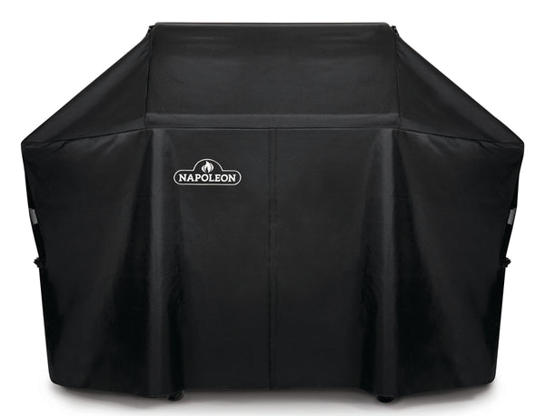 Napoleon Prestige PRO665 Grill Cover l Barbecues Galore: Burlington, Oakville, Etobicoke & Calgary. Stop by in-store or buy online for all of your BBQ, accessory, patio and cover needs.