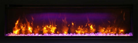 "Amantii Symmetry Series 50"" Built-In Electric Fireplace l Barbecues Galore"