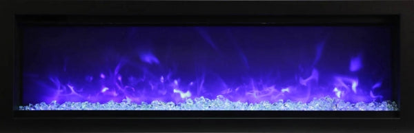 "Amantii Symmetry B Series 50"" Built-In Electric Fireplace"