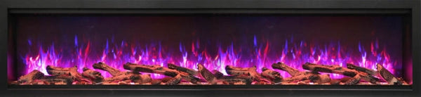 "Amantii Symmetry Series 74"" Extra Tall Built-In Electric Fireplace"