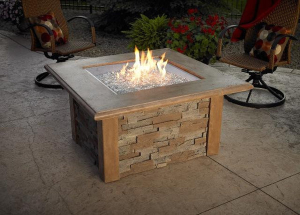 OUTDOOR GREAT ROOM SIERRA FIRE TABLE