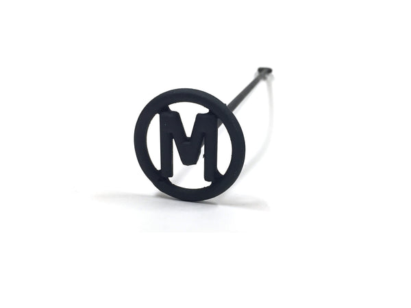 Buffalo Trading Custom Branding Iron - Single Letter Circle