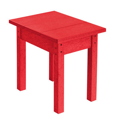 CRP Small Rectangular Table - Red