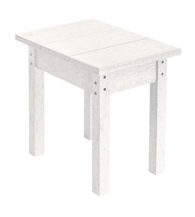CRP Small Rectangular Table - White