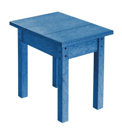 CRP Small Rectangular Table - Blue