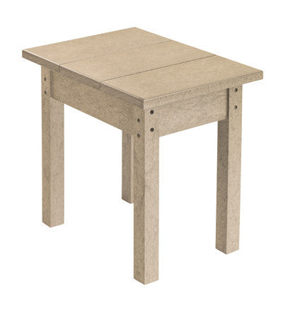 CRP Small Rectangular Table - Beige