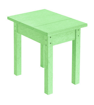 CRP Small Rectangular Table - Mint Green