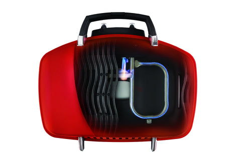 Napoleon TravelQ™ TQ285RDA Portable Barbecue Cutaway View