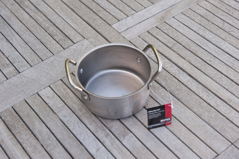 Brander Stainless Steel Pot