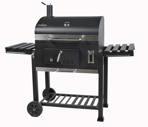 Brander Deluxe Charcoal Grill with Reloadable Firebox