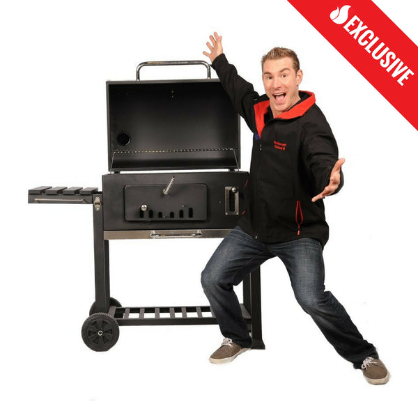 Brander Deluxe Charcoal Grill