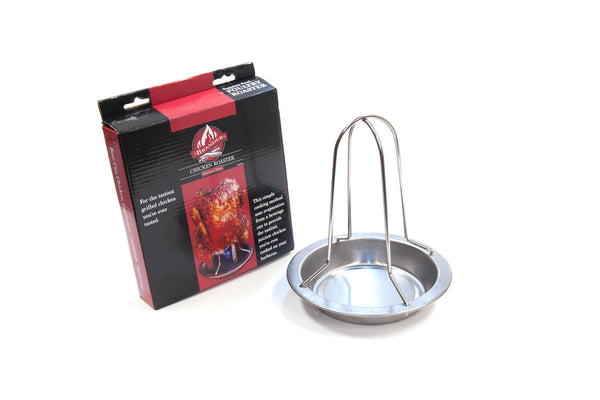 Brander Beer Can Chicken Roaster w/ Pan