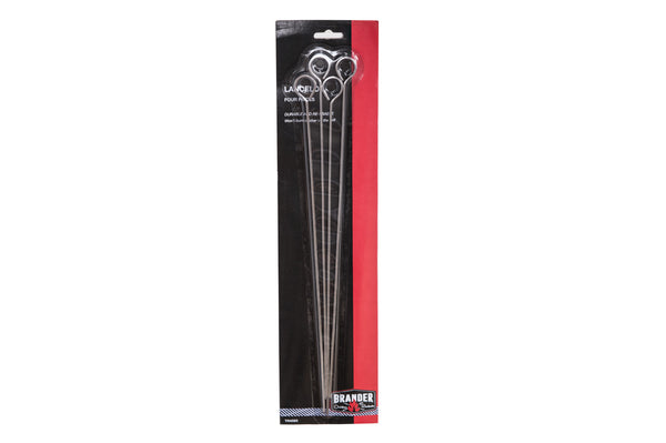 Brander Chrome Barbecue Skewers
