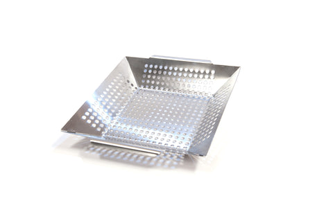 "Brander 12"" Stainless Steel Square Wok Topper 