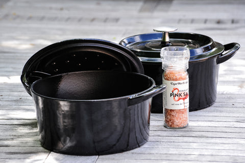 Brander Cast Iron Pot with Lid With Spices