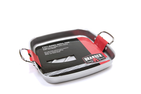 "Brander Non-Stick Square Grilling Pan - 11"" x 11"" 