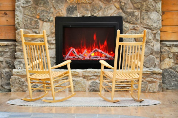"Amantii 30"" Traditional Electric Fireplace 