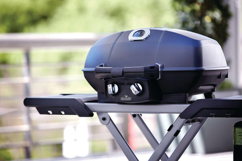 Napoleon TravelQ PRO285X-BK | This bbq with a scissor cart is the ultimate in portability – perfect for you and your family this summer! | Barbecues Galore: Calgary, Etobicoke, Burlington & Oakville