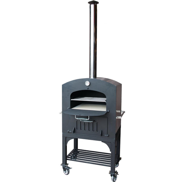 Tuscan Chef Outdoor Deluxe Family Pizza Oven on Cart - GXC2 | Barbecues Galore