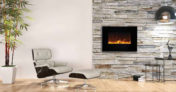 "Amantii 26"" Flush Mount Electric Fireplace"