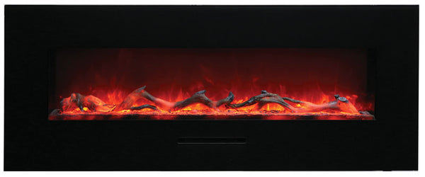 "Amantii 48"" Flush Mount Built-In Electric Fireplace"