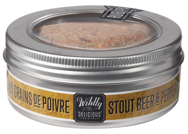 Wildly Delicious Stout & Peppercorn Seasoning