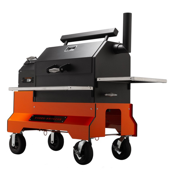 Yoder Competition Pellet Grill and Cart YS640s
