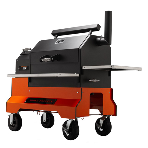 Yoder YS640s Competition Pellet Grill and Cart | You'll be top of the heap in this summer's bbq competitions | Barbecues Galore: Burlington, Etobicoke, Oakville & Calgary