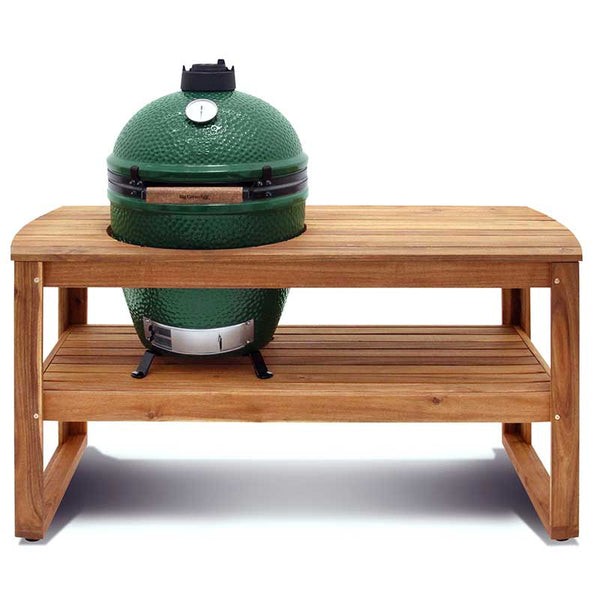 Big Green Egg Acacia Wood Table