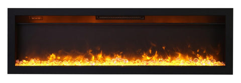 "Amantii Ambiance 60"" In-Wall Electric Fireplace l Barbecues Galore"